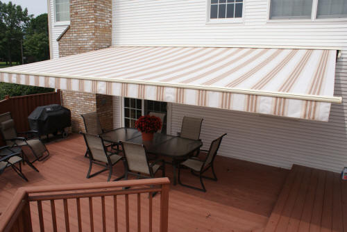 Attractive Durasol Deck And Patio Awnings. Retractable Deck Awnigns