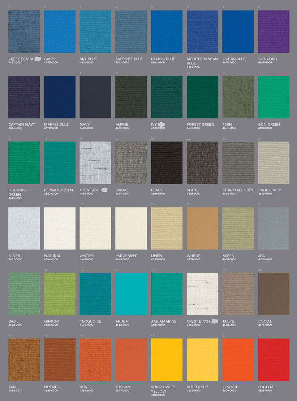 Eclipse Retractable Awning Fabric Choices
