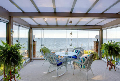 Create A Home Extension With Our Retractable Glass Patio Or Balcony Covers