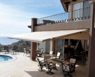Superb Poolside Retractable Awnings